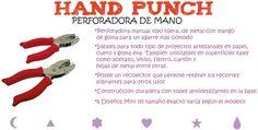 Flow Insumos Creativos: HAND PUNCH - PERFORADORA DE MANO