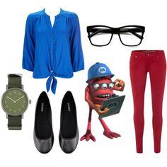 dress like monsters inc yeti
