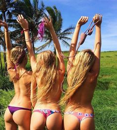 No need to go topless young ladies  to impress everyone on social network find something else instead