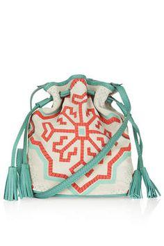 Small Folk Suede Duffle Bag