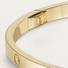 Love Bracelets, Jewelry Bracelets, Bangles, Cartier, Passionate Romance, Love Symbols, Personalized Products, Yellow, Model