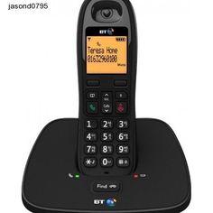Cordless Digital Phone Work Long Range Handset Charger Home Office BT Telephone