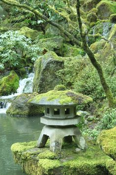 Japanese Garden Garden and Landscaping Project Idea | Project Difficulty: Simple www.MaritimeVintage.com #jardinzen #japanesegardens