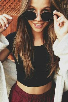 Cute Hair Chic Outfit - Hairstyles and Beauty Tips