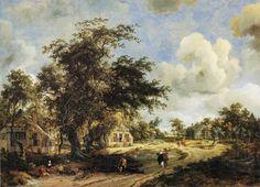 10 Ideeën Over Meindert Hobbema 1638 1709 Landschappen Landschap Nederland