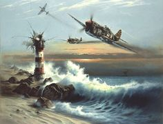 p40 and lighthouse blowing up
