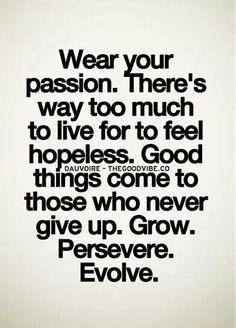 Grow. Preserve. Evolve.