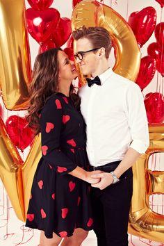 Mcfly's Tom Fletcher and wife Giovanna On Sunday mag Valentine's cover #5.