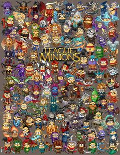 League of Minions by oddish-enigma on DeviantArt New League Champion, Minion Mayhem, Yellow Guy, Legend Images, Enigma, Mobile Legend Wallpaper, Lol League Of Legends, Video Game Art, Video Games