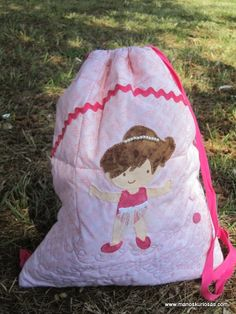 Bolsa ballet Baby Car Seats, Ballet, Children, Scrappy Quilts, Purse, Personalized Gifts, Cosmetic Bag, Sacks, Toss Pillows