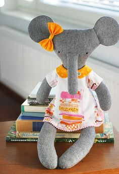 elephant! I love the dress!