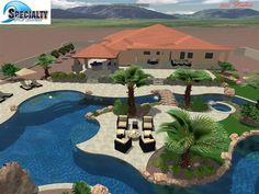Lazy River Swimming Pool Designs saveemail mike farley pool designer 34 reviews colleyville residential lazy river My Husband Decided To Buy The Property Behind Our House Where Our Neighbors Used To Live Lazy River Poolkiddy Poolswimming Pool Designsswimming