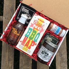 Our BBQ Lover Gift Basket contains delicious selections perfect for grill time. Mossy's Most Wanted BBQ Sauce and Carl's Off the Hook BBQ sauce are both delicious choices when grilling out, and this s
