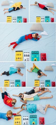 ah super-hero party on my mind!
