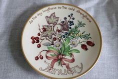 The Country Diary of an Edwardian Lady Limited Edition Plate