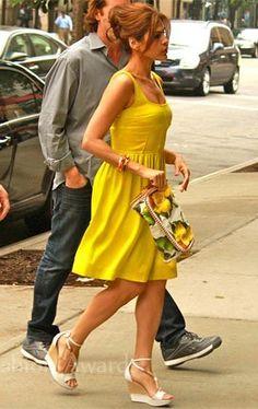 Eva Mendes and Stella McCartney Citrus Clutch