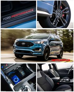 2019 Ford Edge ST - HQ Pictures, Specs, information and Videos - Dailyrevs Ford Edge Suv, New Ford Edge, Smart Home Control, Ford Classic Cars, 2019 Ford, Hd Picture, Fuel Economy, A Decade, Autos