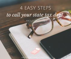 4 Easy Steps to Call your State Tax Department about Sales Tax   AmyNorthardCPA.com