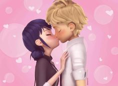 I hope that was real 😍😍😍 Ladybug Y Cat Noir, Meraculous Ladybug, Ladybug Comics, Miraculous Ladybug Wallpaper, Miraculous Ladybug Funny, Lady Bug, Tikki Y Plagg, Marinette And Adrien, Super Cat