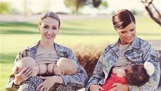 Military mom 'proud' of breast-feeding in uniform, despite criticism - TODAYMoms - Badass women in so many ways. :)