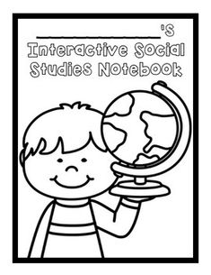 free notebook covers. science & social studies journals