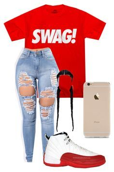 Cute outfits for school, outfits for teens, lit outfits, teen fashion o Jordan Outfits For Girls, Teenage Girl Outfits, Teen Fashion Outfits, Look Fashion, Outfits For Teens, Jordans Girls, Retro Jordans, Ladies Fashion, Fall Fashion