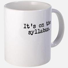 Syllabus Mugs for