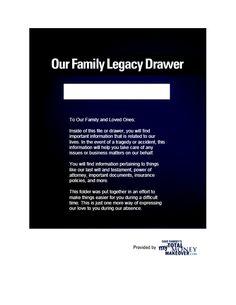 Dave Ramsey - Legacy Drawer PDF