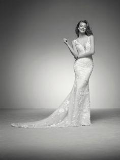 48 nejlepších obrázků z nástěnky Svatební šaty Pronovias 2018 z ... 754b834eb2
