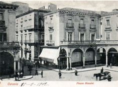 Catania antica Catania, Close Image, Louvre, Street View, Foto Vintage, Building, Messina, Arrow Keys, Photography