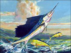 paintings of sailfish | Sailfish Paintings Image - Sailfish Paintings Picture, Graphic ...