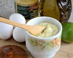 MAIONESE CASEIRA (feita com ovos cozidos)