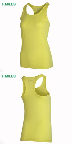 HMILES women dry fit t shirt sleeveless sports tshirt wholesale woman running apparel exercise tank tops girls sexy vest cycling