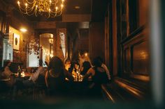 """Housed in a former New Orleans brothel, Cellar Door on Lafayette Street is a high-ceilinged beauty with a courtyard, and it has a great happy hour with half-off drinks and bar snacks (including popcorn, a sophisticated poutine and lamb """"lollipops""""). Photo:CellardoorNola.com"""