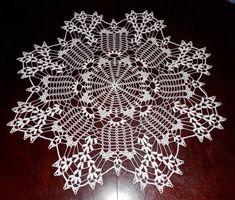 Doily, Ecru, Round, Cotton on Mercari Winter Nail Designs, Christmas Nail Designs, Cool Nail Designs, Crochet Tablecloth, Crochet Doilies, Crochet Lace, Crochet Crafts, Crochet Projects, Ecru Color