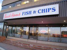 Back Home Fish & Chips, Edmonton Alberta Canada - Restaurant Reviews Edmonton Restaurants, University Of Alberta, Fish And Chips, Alberta Canada, Calgary, Picture Quotes, Trip Advisor, Tin, Pictures