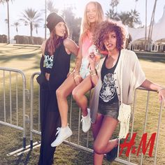 H&M Divided Indie Festival Lookbook 2013