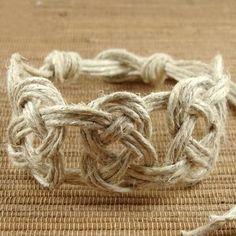 Pretzel Knot Hemp Jewelry | 46 Ideas For DIY Jewelry You'll Actually Want To Wear
