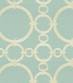 Upholstery Fabric-Waverly Connected/AquamarineUpholstery Fabric-Waverly Connected/Aquamarine,