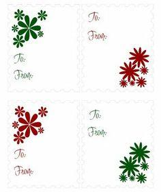 Printable christmas gift tags printable christmas gift tags living life as art free printable artist made gift tags over 135 sheets negle Images