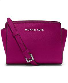 MICHAEL Michael Kors Selma Mini Messenger Bag - MICHAEL Michael Kors - Handbags Accessories - Macys