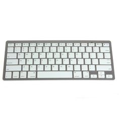 Wireless white keyboard with bluetooth for ipad / ipad 2 / iphone / pc