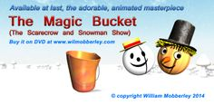 And here is where to find the adorable Chick McFlutter, on The Magic Bucket DVD, available at www.wilmobberley.com  Head on over and buy a copy for some one special!