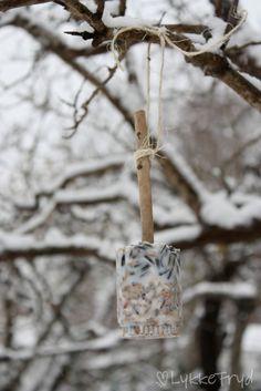 Snøen laver ned, det har blitt kaldt og det er på høy tid å tenke på småfuglene. De trenger masse energi hver dag for å holde varmen...  I...