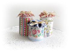Decoupage Fever: More Jars