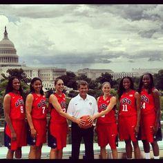 Huskies on Team USA