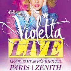 Montpellier : VIOLETTA à la Park&Suites Arena les 27 et 28 février 2015