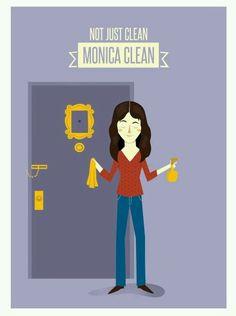 Monica clean.