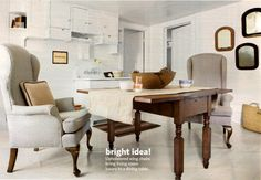 wingback dining chair - Google Search