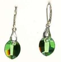 New World Green Earrings - Crystal Pulse Store